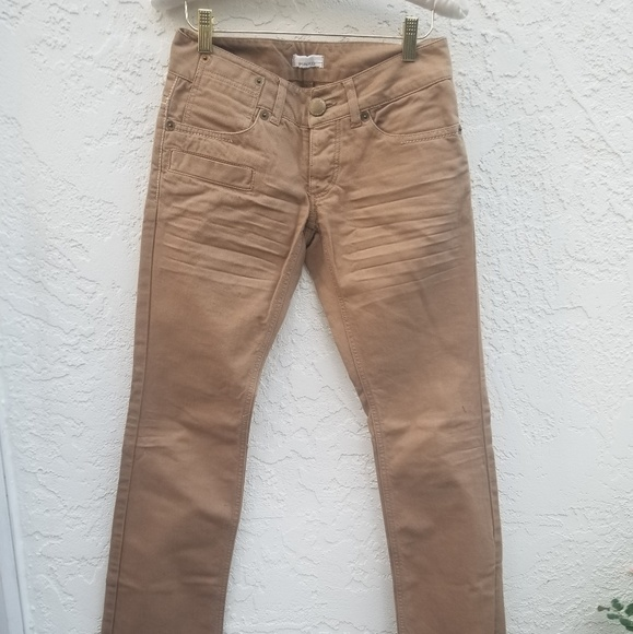 factory authentic a4e08 eba7c Pinko tan straight cut jeans by Chris Conf fidenza